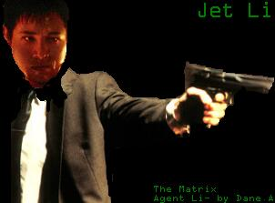 My cheap Jet Li as agent pic